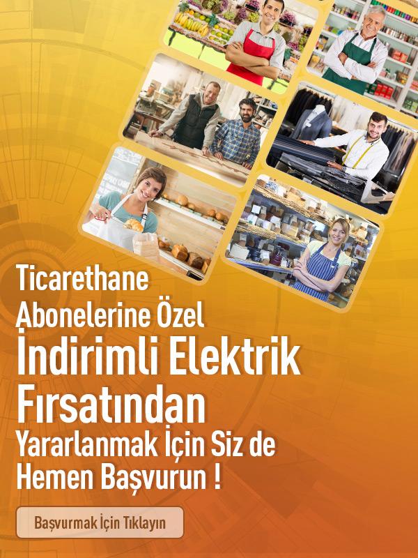 Ticarethane İndirimli Elektrik